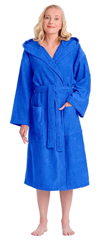 Arus Albornoz-Astra de mujer, 100% algodón, medio tiempo, con capucha