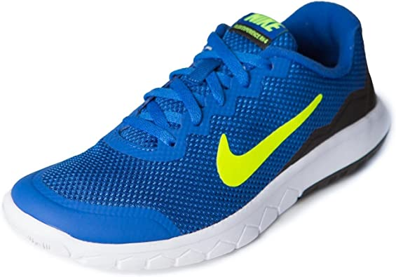 Nike Flex Experience 4 (GS), Zapatillas de Running para Niños, Azul (Azul (Game Royal/Volt-Black-White), 36 EU: Amazon.es: Zapatos y complementos