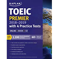 TOEIC Premier 2018-2019 with 4 Practice Tests: Online + Book + CD