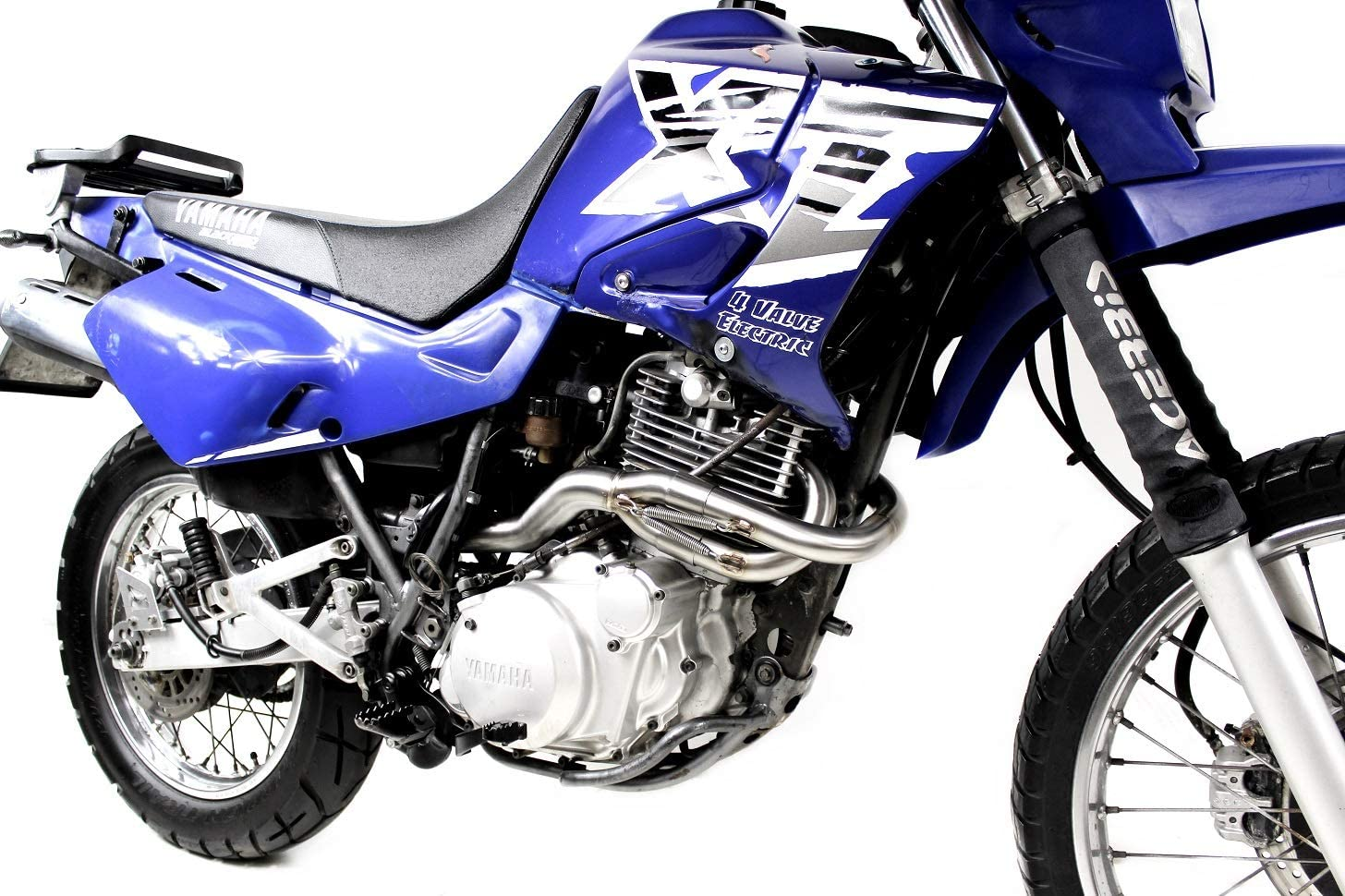 XT 600 Pot d/échappement MX Carbon Silencieux Dominator Exhaust Racing Slip-on 1990 1991 1992 1993 1994 1995 1996 1997 1998 1999 2000 2001 2002 2003 2004