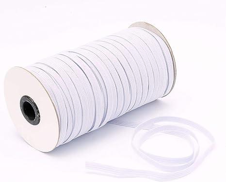 6mm Wide Elastic Spool Elastic Cord Elastic Band Flat Knitting Sewing Stretch
