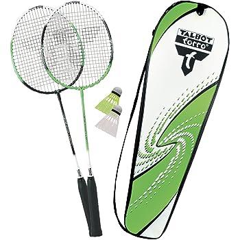 Viele Badminton-Setis (z.B. von Talbot Torro) werden schon sehr günstig im Internet angeboten.