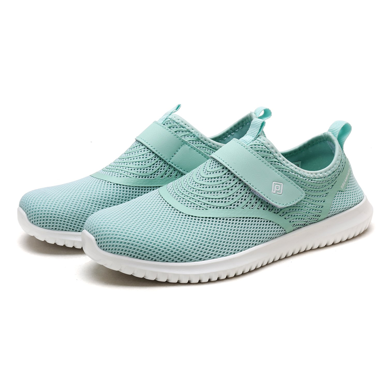 DREAM PAIRS Quick-Dry Casual Water Shoes Sports Walking Casual Quick-Dry Sneakers for Women B07888QGRB 10 M US|Lt.green edc135