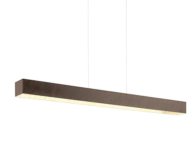 Eglo collada w legno illuminazione da soffitto amazon