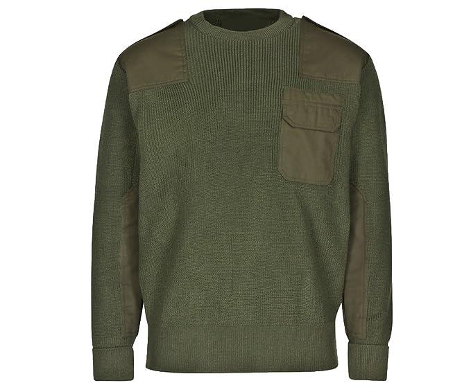 BW Pullover mit Tasche oliv