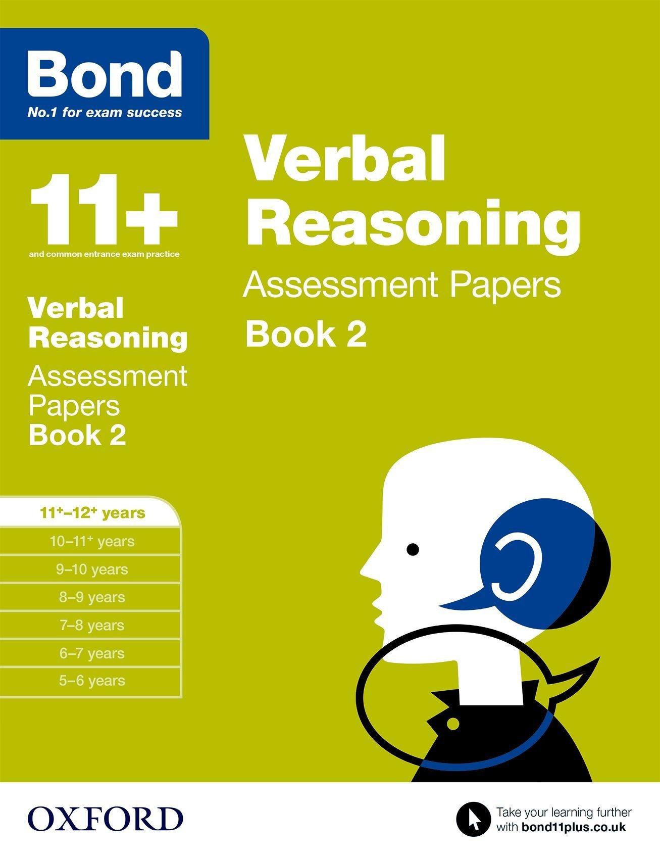 Read Online Bond 11+: Verbal Reasoning: Assessment Papers Book 2 pdf epub