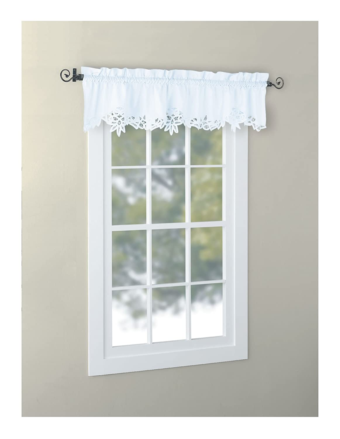 pattern garden swag sheer pair valance and product window free curtain tiers on shipping lace embroidered over voile home options leaf floral pieces scrolling orders