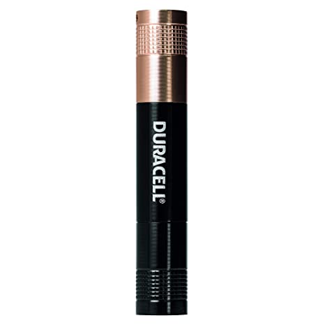 DURACELL TOUGH PEN STYLE ALUMINUM FLASHLIGHT SUPER CLEAR LED FREE P+P BRAND NEW