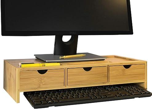 SoBuy BBF03-N Pantalla Soporte para Monitor, Soporte de ...