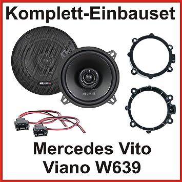 Juego de altavoces para Mercedes Vito, Viano W639 con MB Quart qx130 2 Vías altavoz