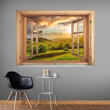 murando - 3D WANDILLUSION 140x100 cm Wandbild - Fototapete - Poster ...