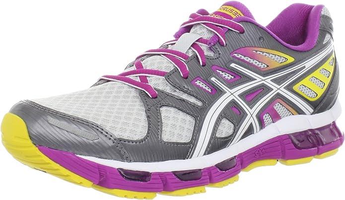 Asics Gel-Cirrus33 2 - Zapatillas de Running de sintético para Mujer Lightning/White/Berry, Color, Talla 36: Amazon.es: Zapatos y complementos