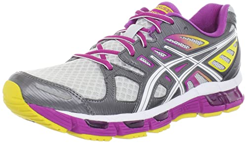 Asics Gel-Cirrus33 2 - Zapatillas de running de sintético para mujer Lightning/White/Berry, color, talla 35: Amazon.es: Zapatos y complementos