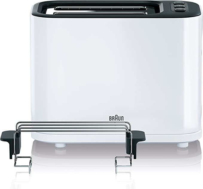 Braun Household HT 3010 WH Tostadora, Blanco: Amazon.es: Hogar