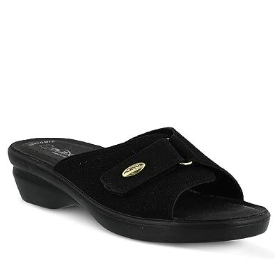 Flexus Women's Kea Black Sandal 35 (US Women's ...