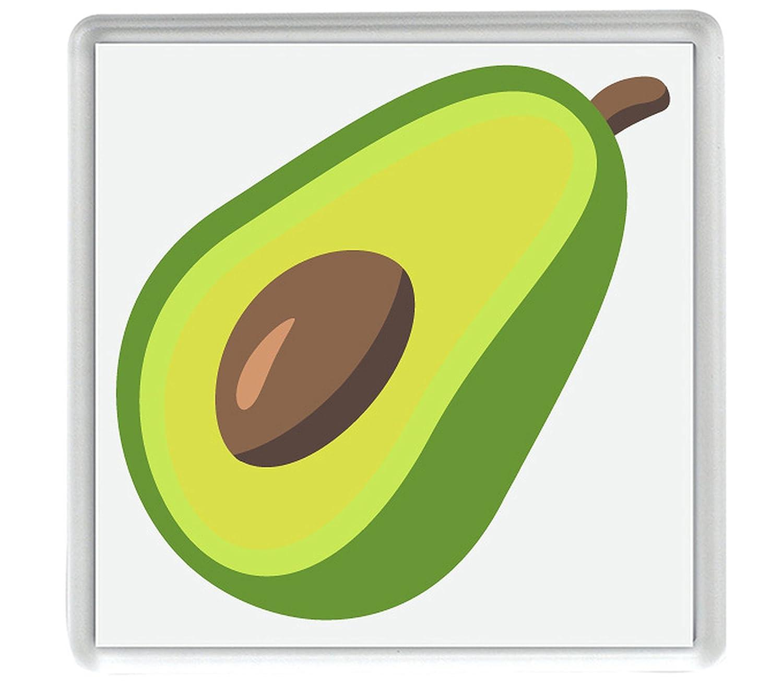 IamEngland Emoji Aguacate 58mm x 58mm Nevera Imán/Avocado Emoji ...