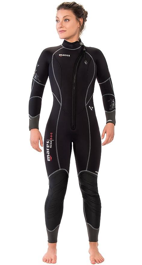 8dd021eaf7 Amazon.com   Mares Women s Flexa 8-6-5 mm Front Zip Wetsuit   Sports ...