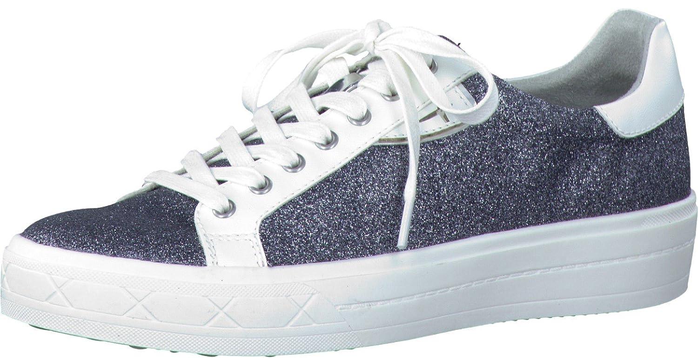 Tamaris Schuhe 1-1-23629-37 Damen Turnschuhe Schnürer Halbschuhe Sommerschuhe für modebewusste Frau