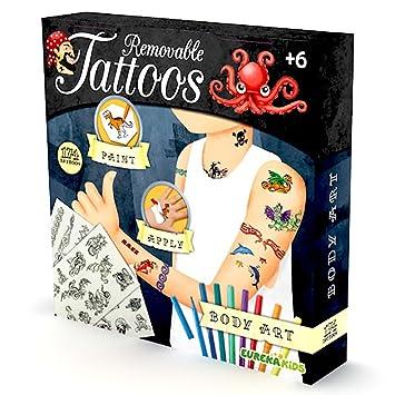 Eurekakids Eureka Kids Tatuajes Para Ninos 23155421 Amazones - Juegos-de-tatuajes-para-nios
