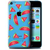 STUFF4 Phone Case / Cover for Apple iPhone 5C / Watermelon Design / Pieces of Food Collection