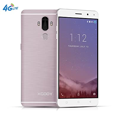 Xgody Y19 6 Inch 4G FDD-LTE Android 7 0 Mobile phone Unlocked Dual Rear  Camera with Gesture Fingerprint ROM 16GB+ RAM 2GB MTK6737 All-in-one
