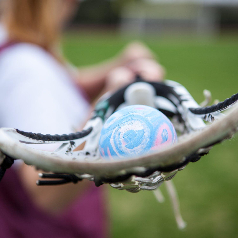 color azul NFHS NULL Paul Rabil colegios y juegos escolares de grado NCAA Champion Sports Bolas de Lacrosse de colores: tama/ño oficial para profesionales paquetes de varias unidades tama/ño 1 Ball certificado
