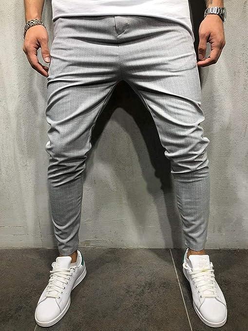 IOAAD Pantalones Deportivos Pantalones de chándal para Hombre ...