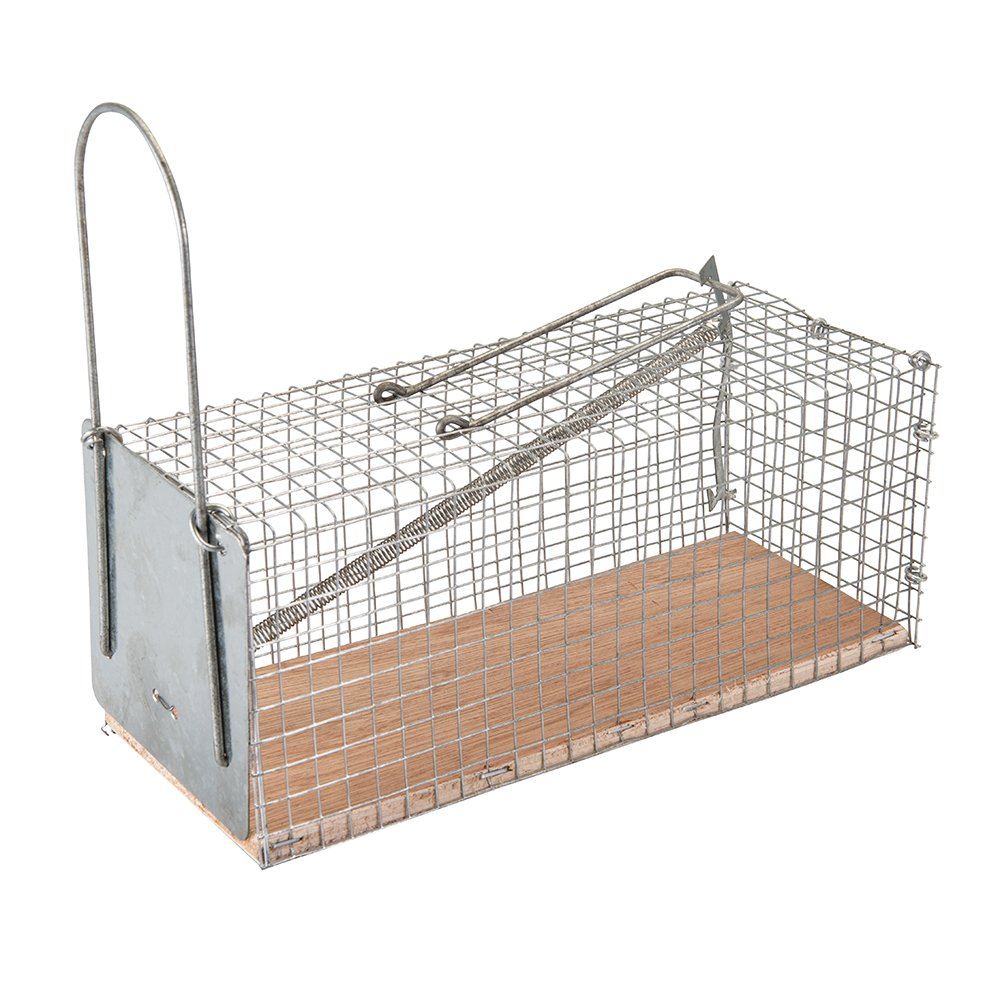 Fixman 197512 Humane Cage Mouse Trap 250 x 90 x 90mm