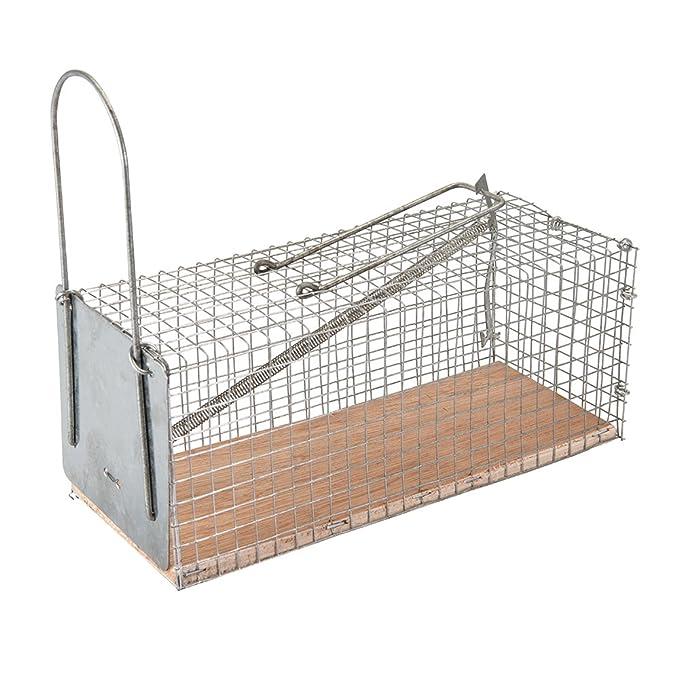 Silverline Tools FIXMAN 197512 - Jaula para atrapar roedores (250 ...