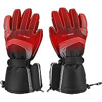 Verwarmde handschoenen, elektrische verwarmde handschoenen met 3 warmtestanden, warme winterhandschoenen, accu verwarmd…