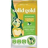 Solid Gold - Holistique Blendz - Natural Senior Dog Food for Sensitive Stomachs - Oatmeal, Pearled Barley and Fish Meal - Pot