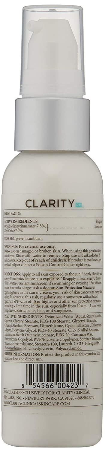 ClarityRx Skin Defense Environmental Protection Cream, 2 Oz packaging may vary
