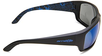 Arnette Cheat Sheet Gafas de Sol, Hombre, Matte Black, 62