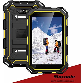 Amazon Com 7 Inch Ip68 Android Rugged Tablet Computers