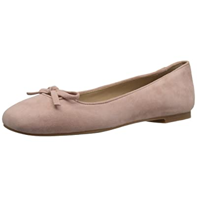 Amazon Brand - The Fix Women's Zavala Structured Bow Ballet Flat, Petal Blush, 10 B US: Shoes