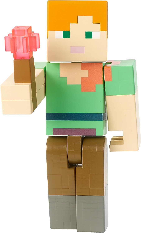 Minecraft Torch-Sparking Alex Light-Up Figure