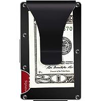 Aluminum Metal Wallet, RFID Blocking Minimalist Wallet, Slim Wallet, Money Clip