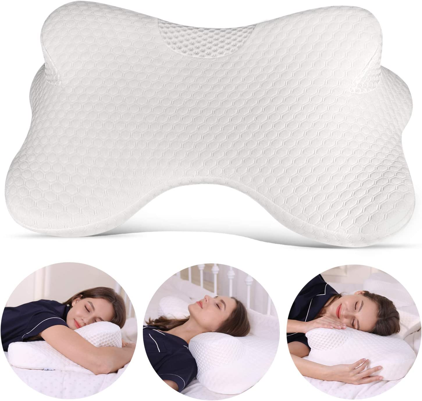 Amazon.com: Coisum Stomach - Almohada cervical para dormir ...