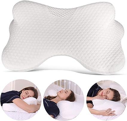 Front Sleep Sleeper Memory Foam Neck Support Pillow