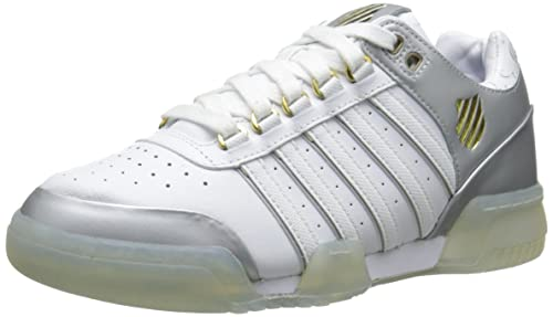 K-Swiss Gstaad - Zapatillas Unisex, Color Blanco, Talla 47