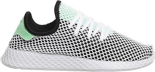 Adidas Deerupt Runner Schwarz Grün Weiß B28076 Herren