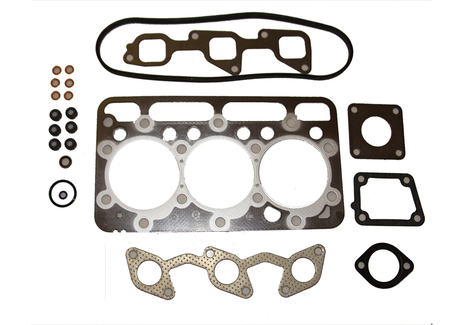 New Kubota D1703 Upper Gasket Kit