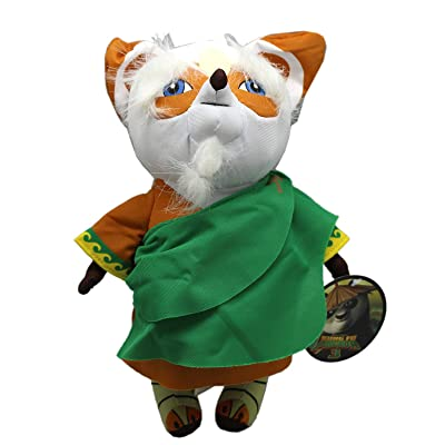 Kung Fu Panda 3 Master Shifu Medium Size Kids Stuffed Toy (10in): Toys & Games