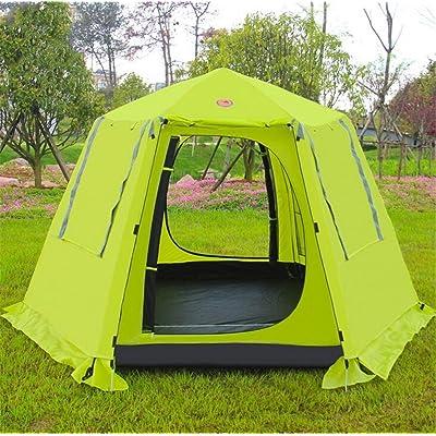 TTYY Tente automatique 3 ~ 4 personnes Camping en plein air Voyage au printemps Tour Aventure en pique-nique