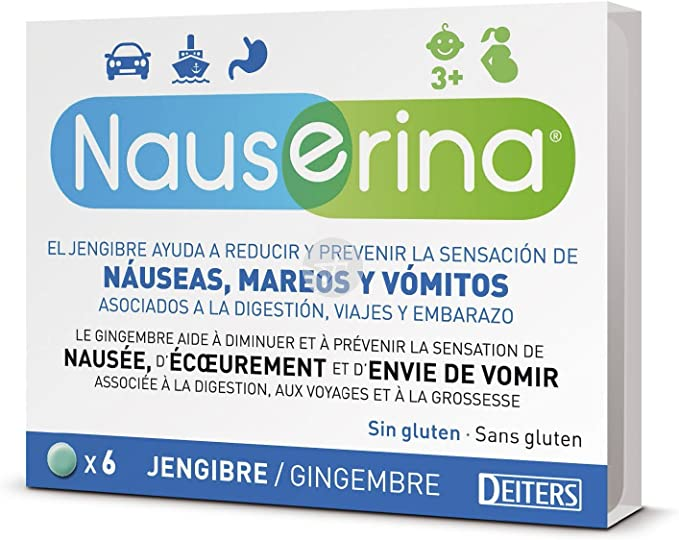 DEITERS - NAUSERINA 6 COMPRIMIDOS: Amazon.es: Salud y cuidado personal