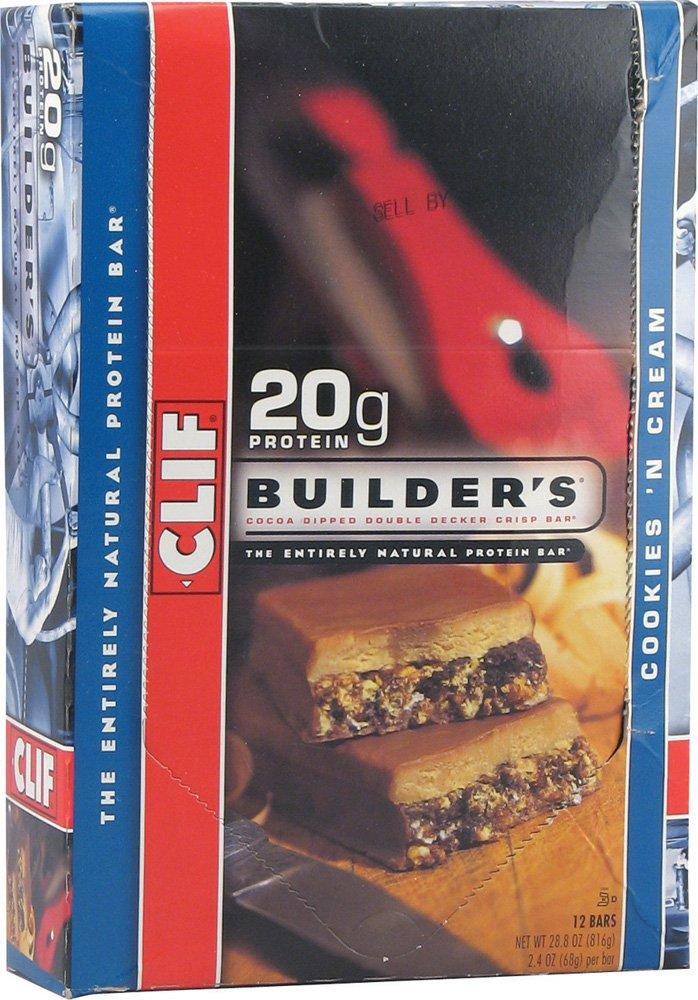 オールナチュラル クリフビルダーズプロテインバー クッキークリーム 24本 Clif Protein Builder's Protein Builder's 24本 Bar Cookies'n Cream B00AU61TC2, カヅノグン:5da2bf4b --- ijpba.info