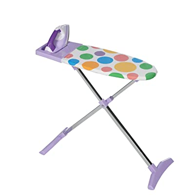 CASDON Ironing Set- Wooden Top & Metal Legs: Toys & Games