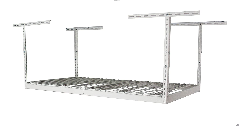 "SafeRacks – 3x6 Overhead Garage Storage Rack (12""-24"") Eagle Industrial Group SR-3x6-W Pack 12"