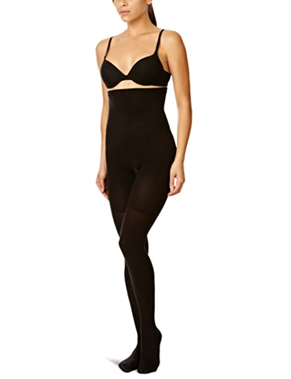 a235aaff2 Spanx Tight End Tights High Waisted Body Shaping Tights - -  Amazon.co.uk   Clothing