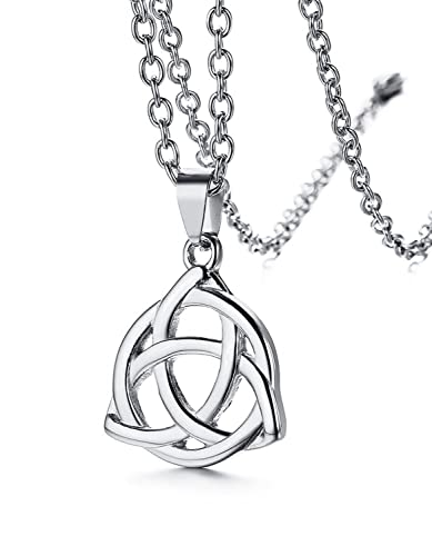 Amazon luckylarge irish celtic knot triquetra luckylarge irish celtic knot triquetra24 mozeypictures